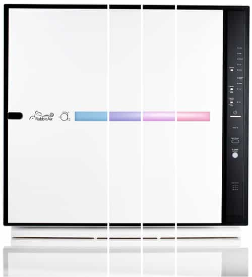 Rabbit Air MinusA2 Ultra Quiet HEPA Air Purifier - Stylish, Efficient and Energy Star (SPA-780A, White, Toxin Absorber)