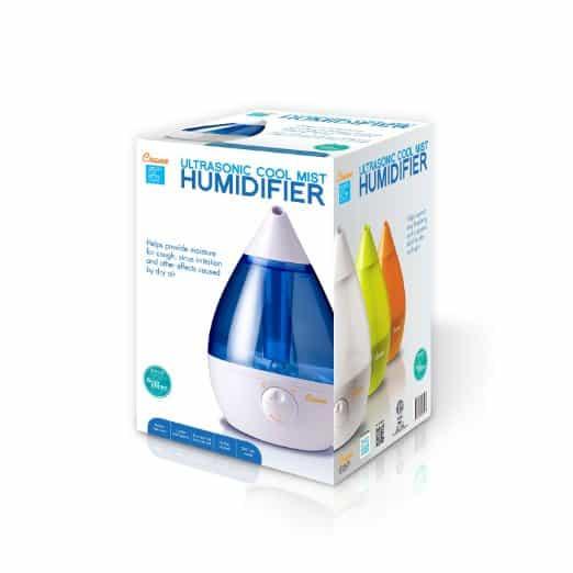 Crane Drop EE5301 USA Filter-Free Cool Mist Humidifier