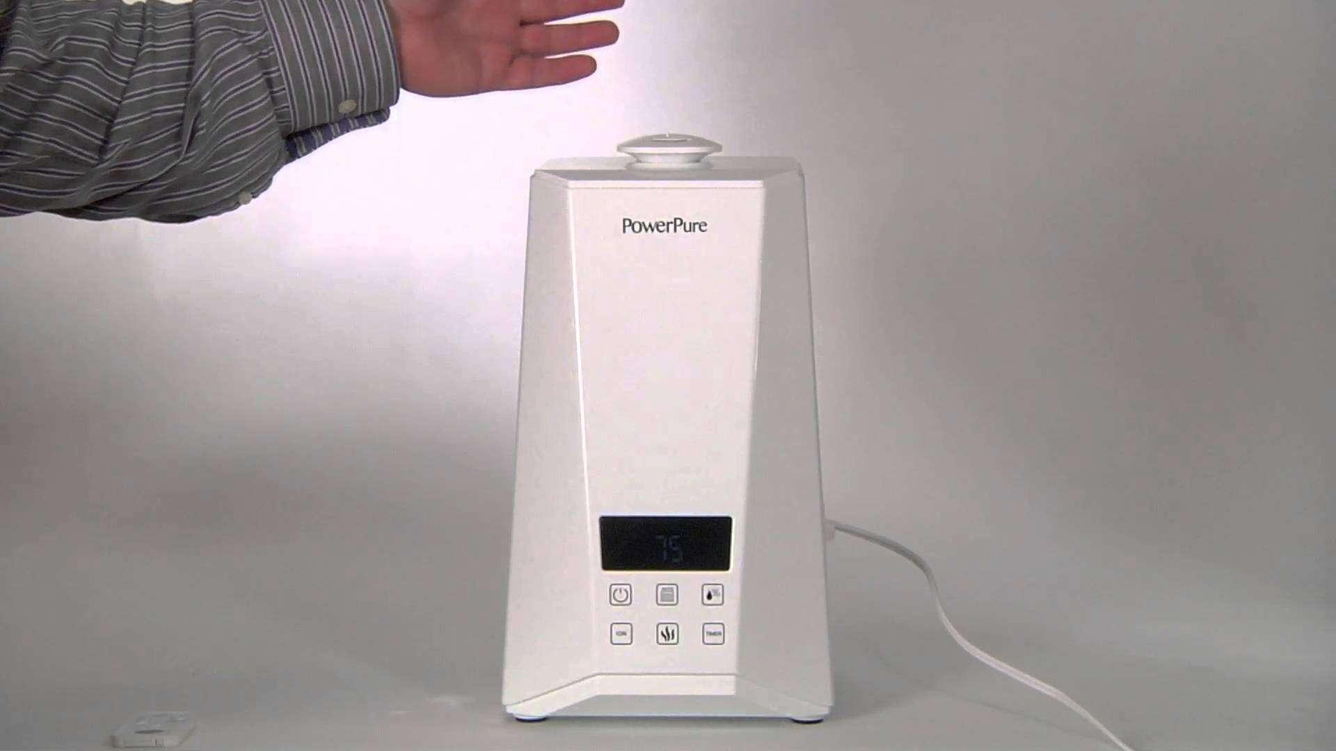 PowerPure 5000 Warm and Cool Mist Ultrasonic Humidifier