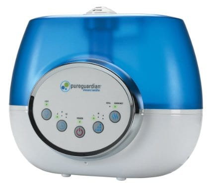 PureGuardian H1610 100-Hour Ultrasonic Warm and Cool Mist Humidifier
