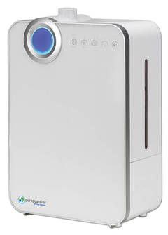 PureGuardian H8000 9L Output per Day Ultrasonic Warm and Cool Mist Humidifier