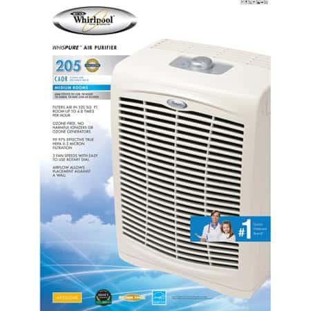 Whirlpool Whispure 250 Air Purifier