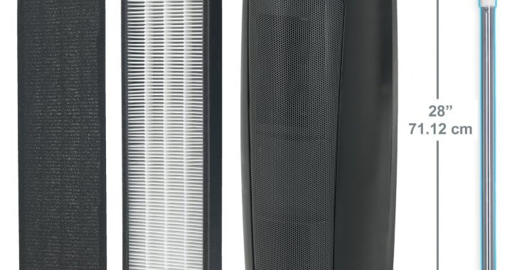 GermGuardian AC5250PT 3-in-1 Air Purifier with Pet Pure True HEPA Filter, UV-C Sanitizer, Captures Allergens, Smoke, Odors, Mold, Dust, Germs, Pets, Smokers
