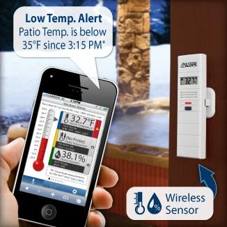 La Crosse temperature and humidity monitor