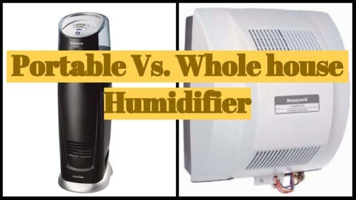 Portable vs Wholehouse humidifier review