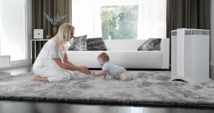 Air purifier for babies