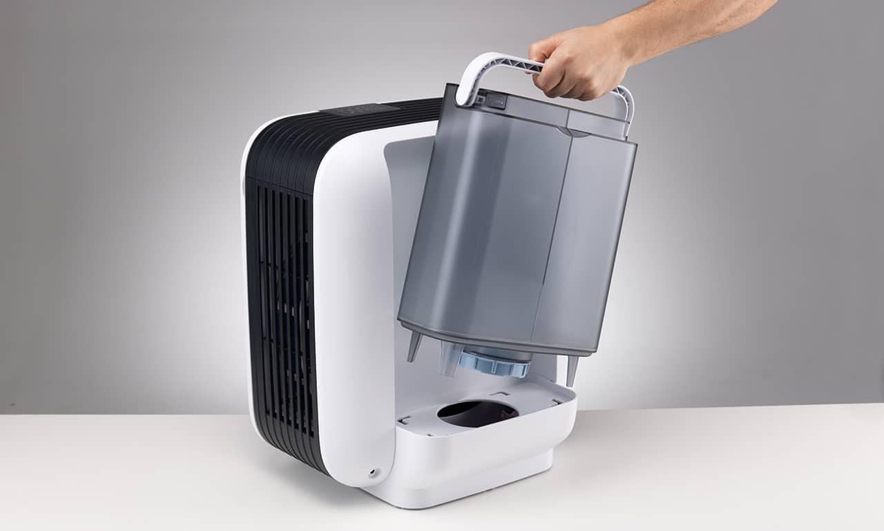 Humidifier tank capacity