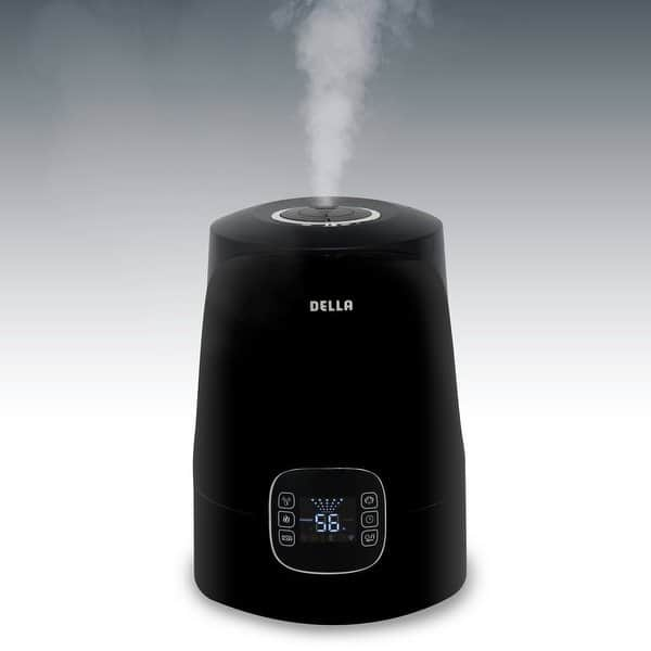 Ultrasonic warm mist