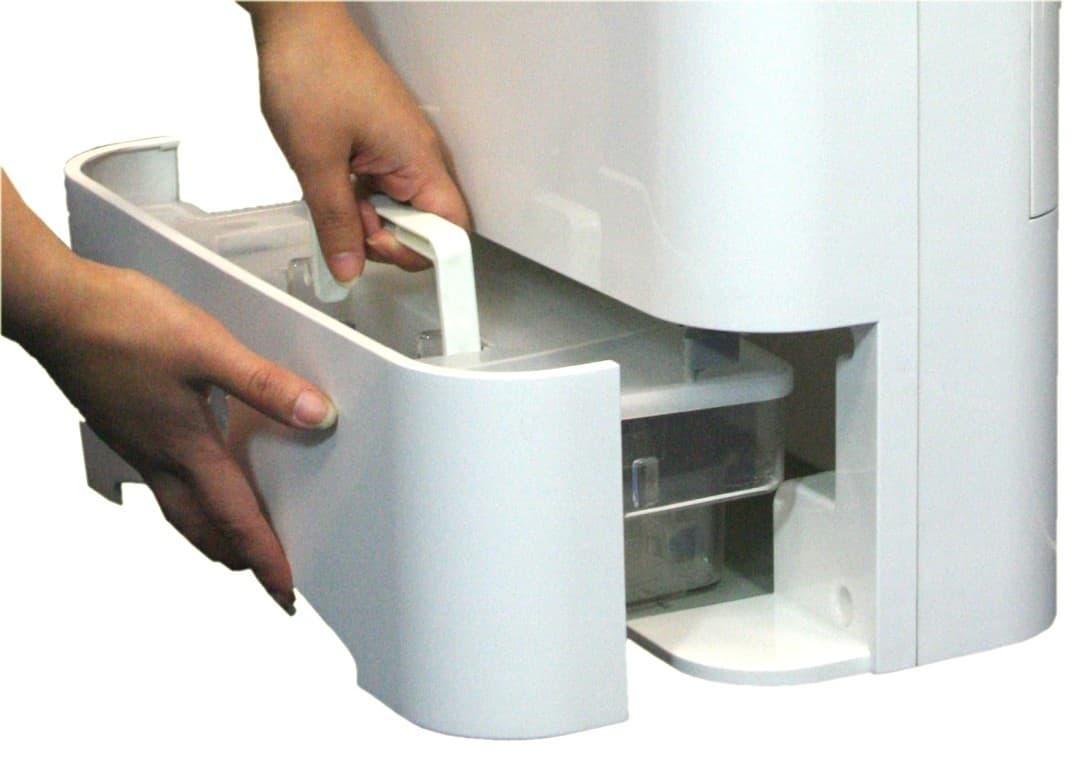 Dehumidifier tank size