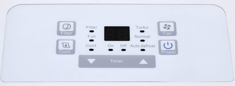 Keystone KSTAD70B High Efficiency 70-Pint Dehumidifier with Electronic Controls