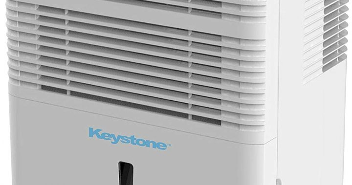 Keystone KSTAD70B High Efficiency 70-Pint Dehumidifier with Electronic Controls
