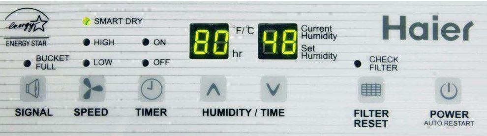 Haier DE65EM 65-Pint Dehumidifier screen