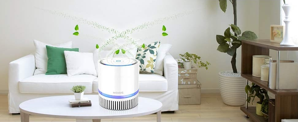 KOIOS True HEPA Filter Air Purifier for Home and Office