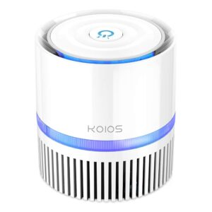 KOIOS True HEPA Filter Air Purifier for Home and Office Review