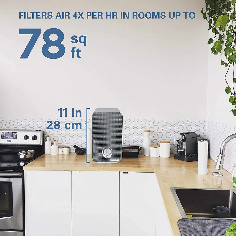 GermGuardian AC4100 True HEPA Filter Air Purifier Review