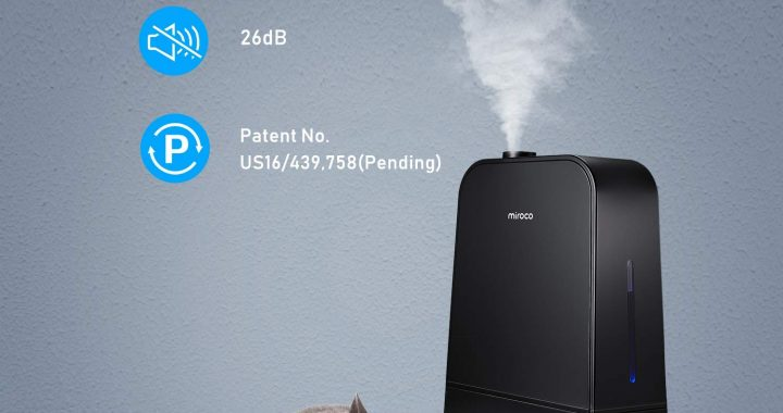Miroco MI-AH001 Ultrasonic Cool Humidifier with 6L Tank Review
