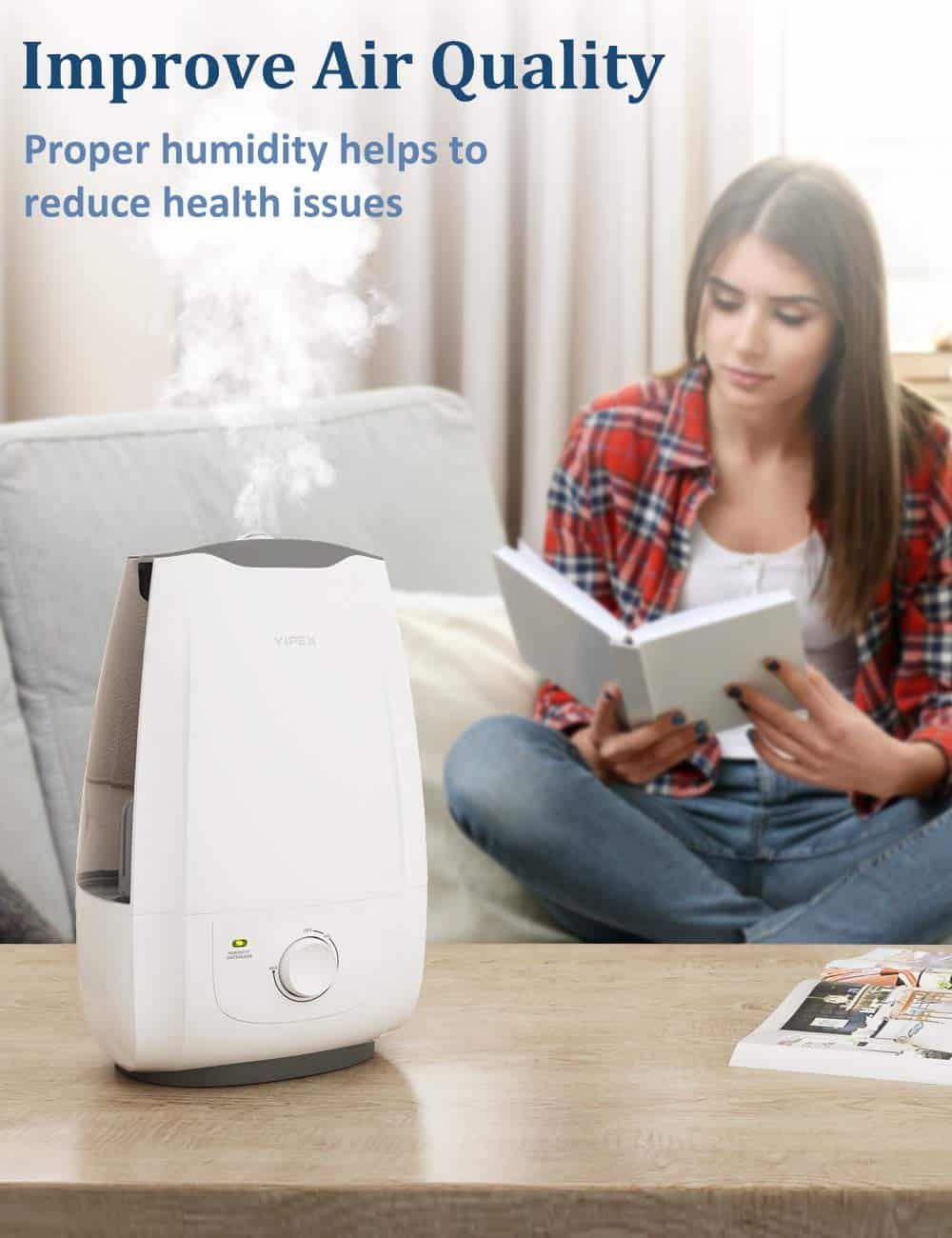 VIPEX Cool Mist Ultrasonic Humidifier Review