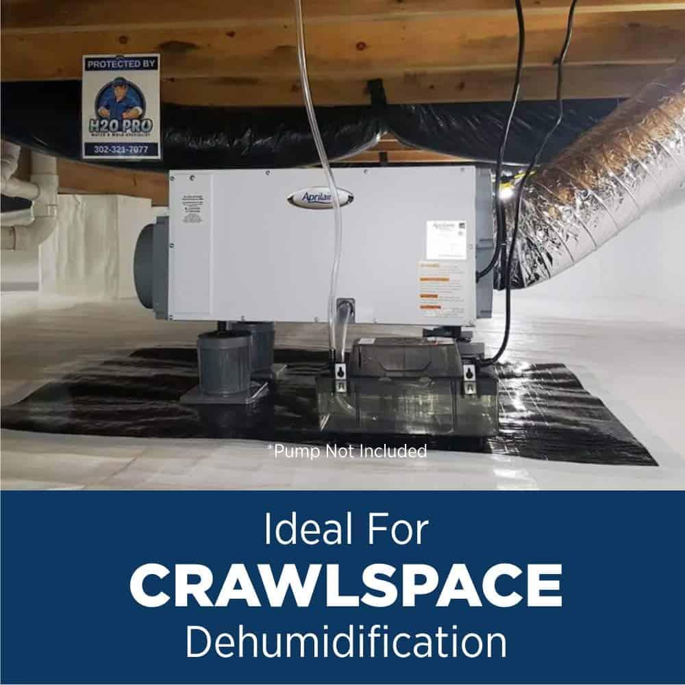 Aprilaire 1820 Pro Crawlspace Dehumidifier Review