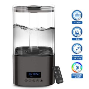 HAUEA 5.5L Ultrasonic Mist Humidifier