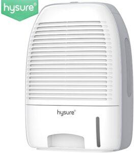 Hysure Portable Mini Dehumidifier 2200 Cubic Feet Review