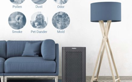 PARTU BS-07 Air Purifier True HEPA Filter Review