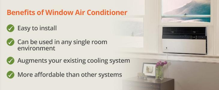 Benefits of Using a Window Air Conditioner