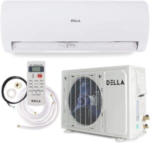 Della 12000-24000 BTU Ductless Mini Split Air Conditioners