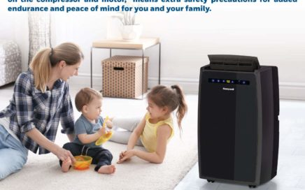 Honeywell Black MN12CESBB Portable Air Conditioner