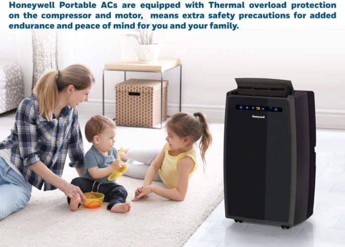 Honeywell Black MN12CESBB Portable Air Conditioner