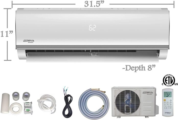 UOKOO Innova 12,000 BTU Ductless Mini-Split Air Conditioner Review