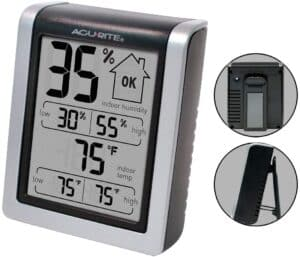 AcuRite 00613 Digital Hygrometer & Indoor Thermometer