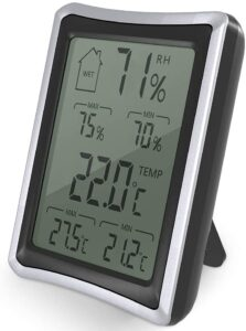 BENGOO Home Humidity Monitor Indoor Hygrometer Thermometer