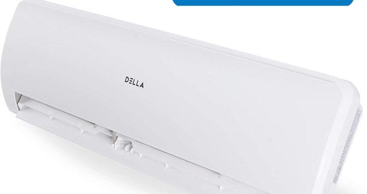 DELLA 12,000 BTU 115V- 15.5 SEER Energy Ductless Mini Split Air Conditioner