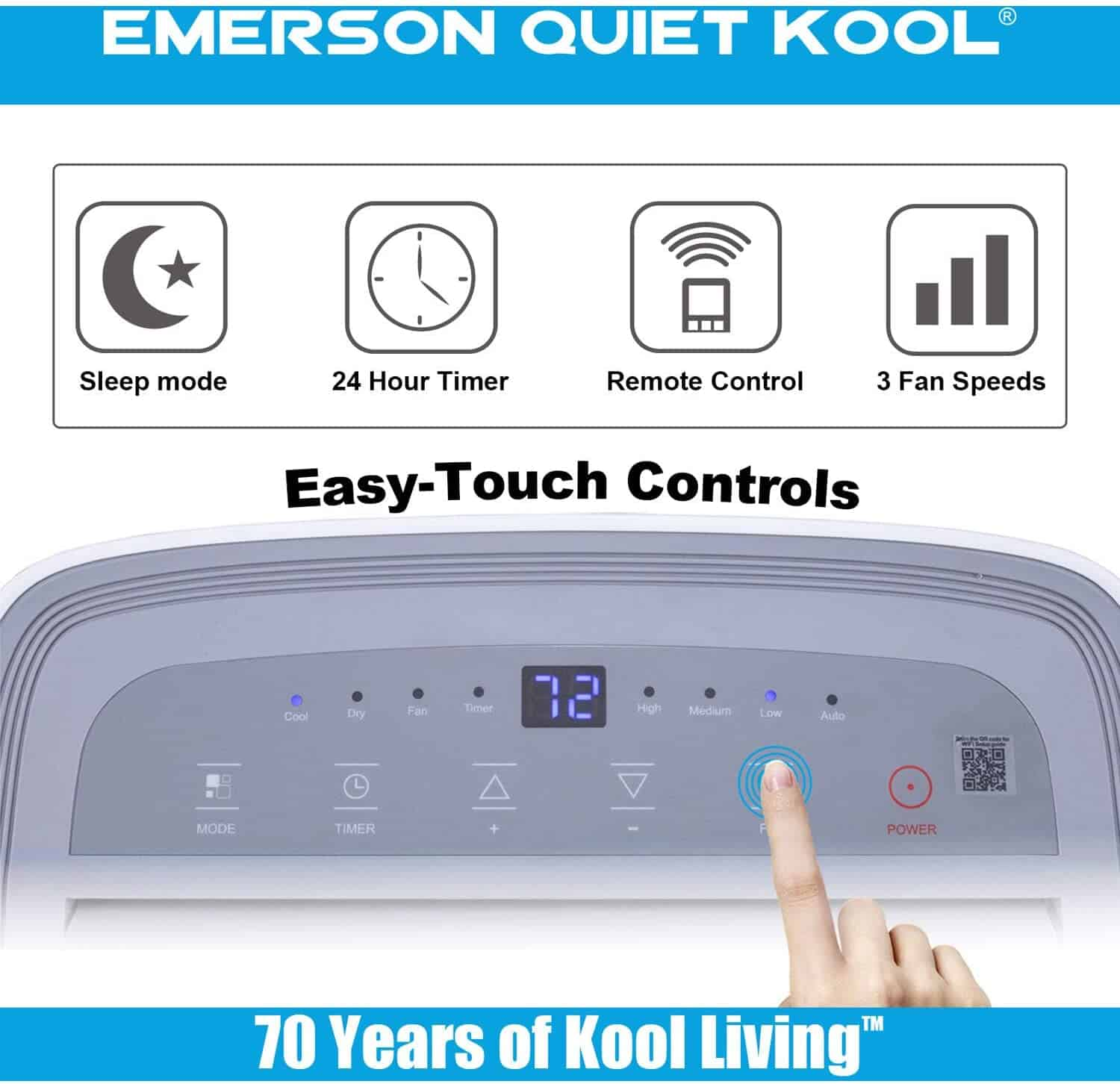 Emerson Quiet Kool EAPC8RD1 Portable Air Conditioner Review