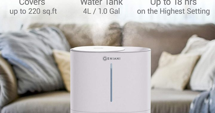 GENIANI Top Fill Cool Mist Humidifiers for Bedroom &Essential Oil Diffuser Review