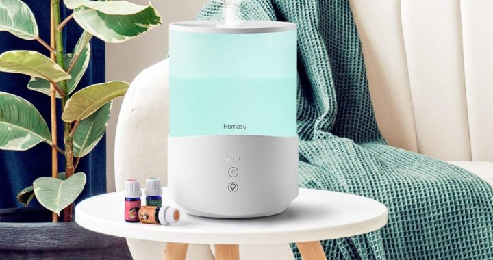 Homasy Cool Mist Humidifier Diffuser Review