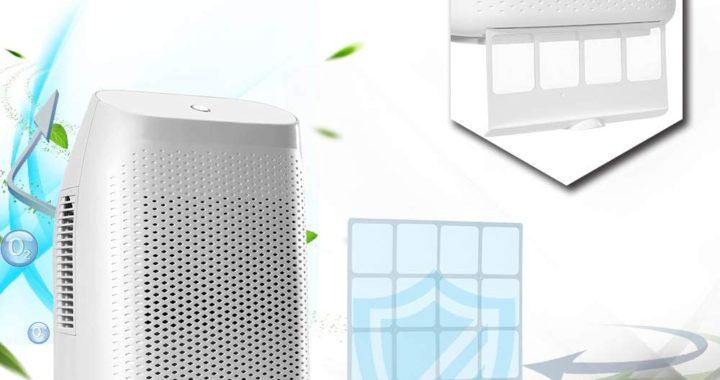 Honati 2000ml Small Portable Home Dehumidifier Review