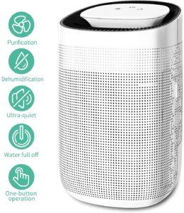 Honati Home 750 ml Small Ultra-quiet Dehumidifier