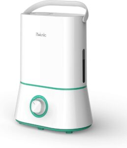 Iteknic AH001 Ultrasonic Cool Mist Humidifier