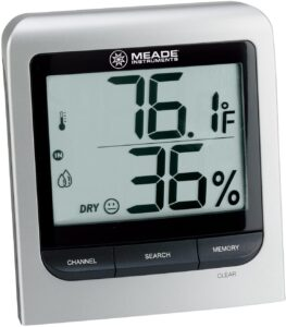 Meade Instruments TM005X-M Wireless Indoor and Outdoor Thermo Hygrometer
