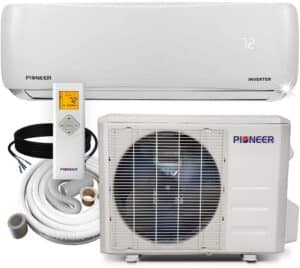 Pioneer WYS012-17 Ductless Mini Split Air Conditioner