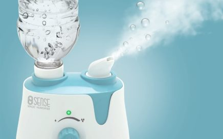 Sense Magic Humidifier with Water-Bottle Tank Adapter