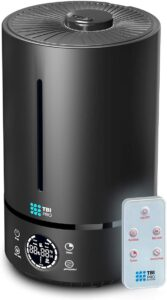 TBI Pro Upgraded 2020 Top-Fill 6L Cool Mist Large Humidifier for Home