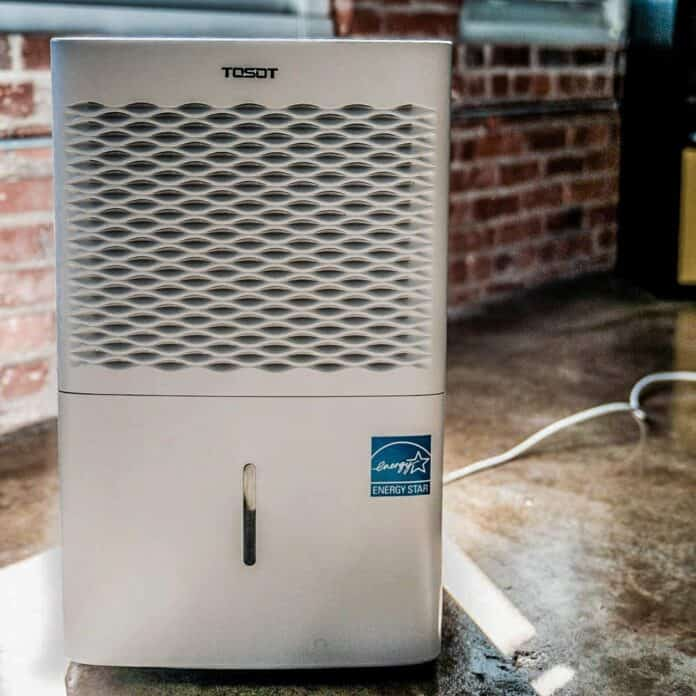 TOSOT 70 pint dehumidifier with pump for large rooms Review