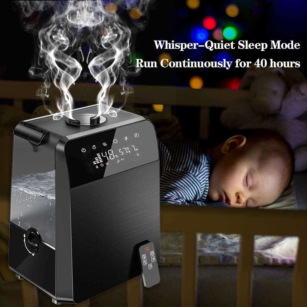 TTLIFE Ultrasonic Humidifier Large Room Review