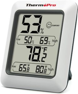 ThermoPro TP50 Indoor Hygrometer
