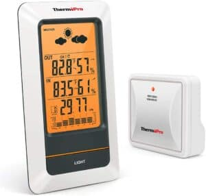 ThermoPro TP67 Waterproof Weather Station Wireless Indoor Outdoor Thermometer Digital Hygrometer Barometer