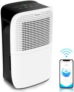 Vacplus 50 Pints Dehumidifier with WiFi Remote for Large Rooms Review