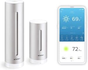 Netatmo Weather Station Indoor Outdoor with Wireless Outdoor Sensor
