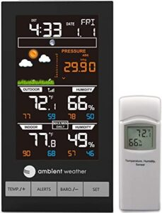 Ambient Weather WS-2801A Indoor and Outdoor Thermometer